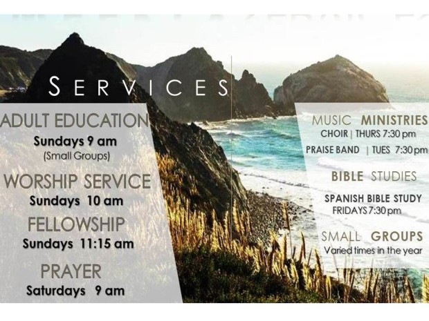 WEEKLY SERVICES.